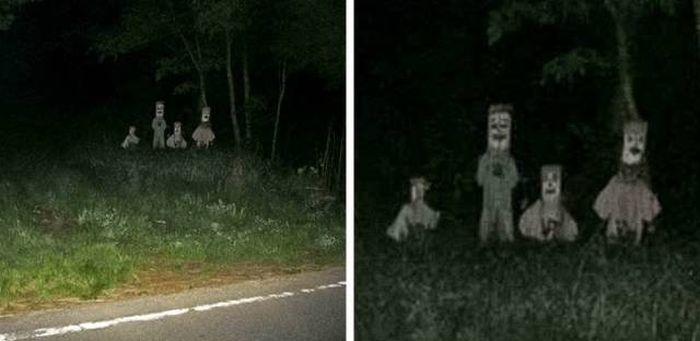 Looks Creepy