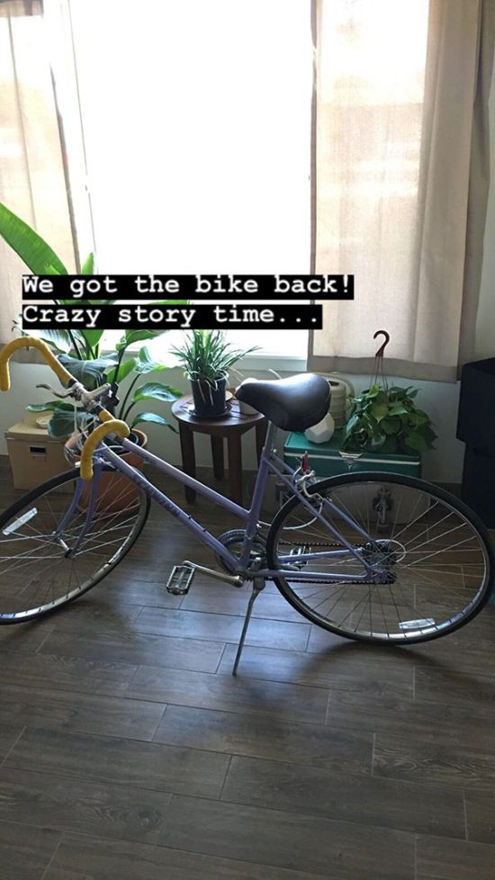 Guy Asks For Help Finding His Girlfriends Stolen Bike