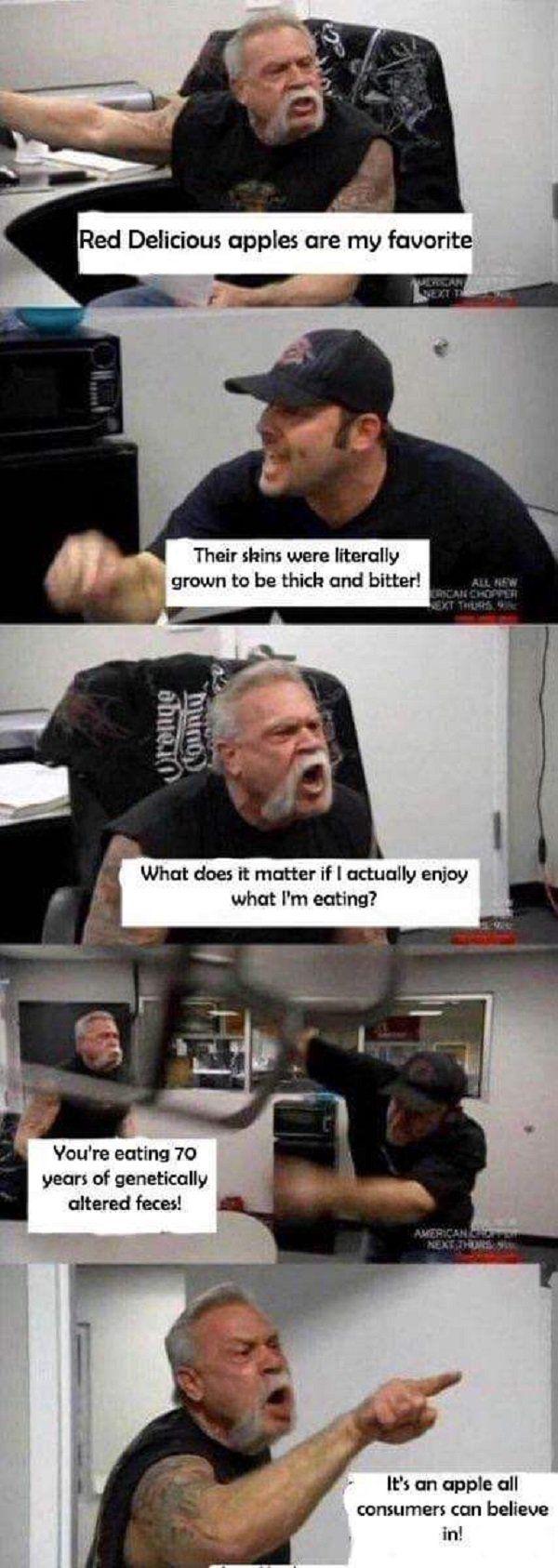 'American Chopper fight' Meme
