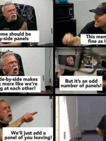 'American Chopper fight' Meme