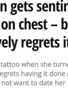 An Unfortunate Tattoo Choice Ruins Her Entire Personal Life
