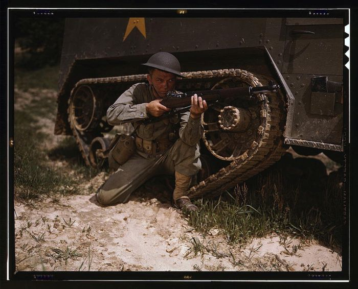Colorized Photos Of World War II