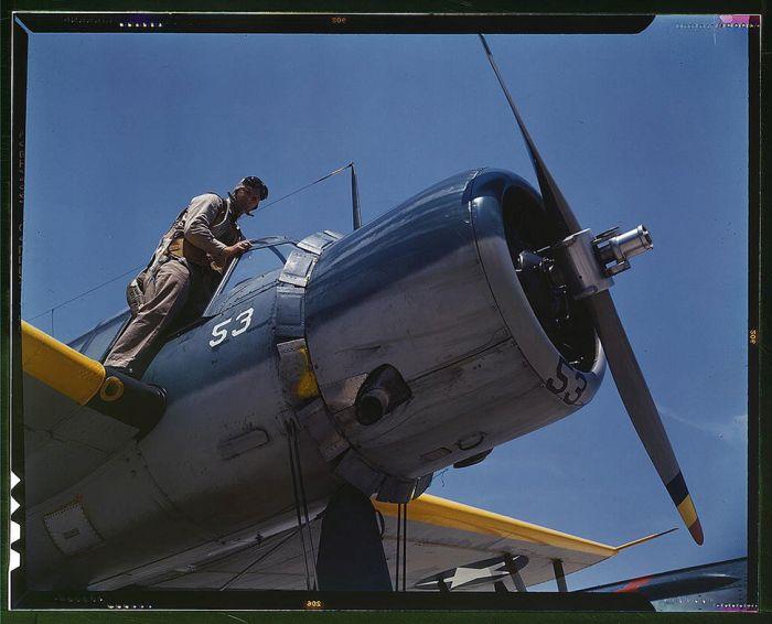 Colorized Photos Of World War II