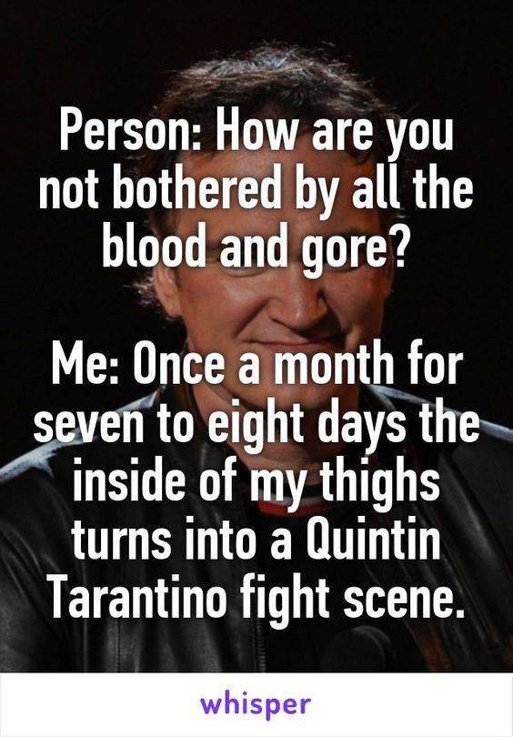 Bloody Period Memes