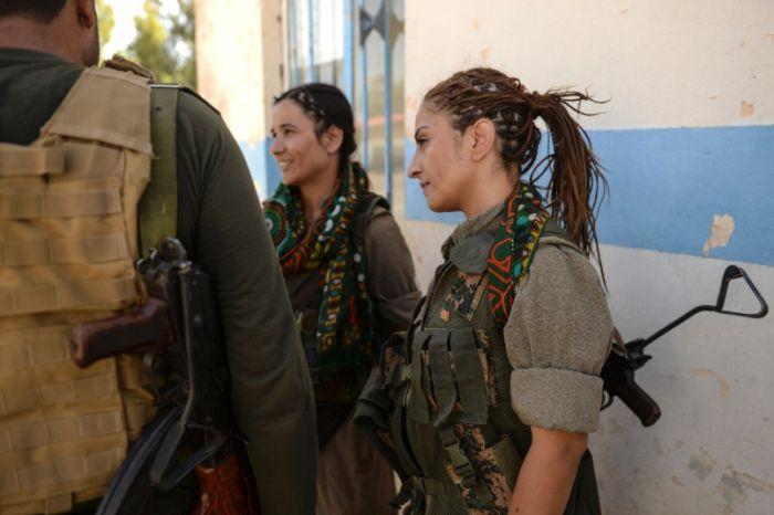 Kurdish Female Fighters