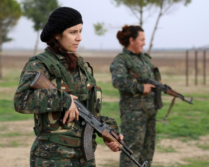 Kurdish Female Fighters