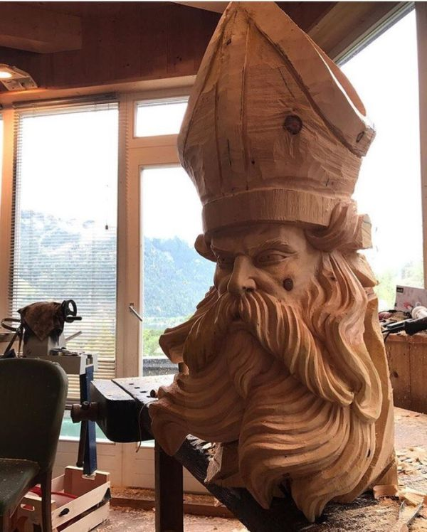 Awesome Wood Statue