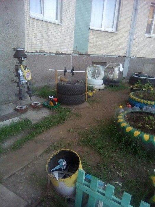 Strange Installations In Russia