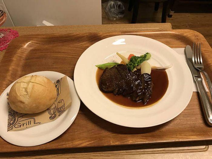 Casual Japanese Hospital Food