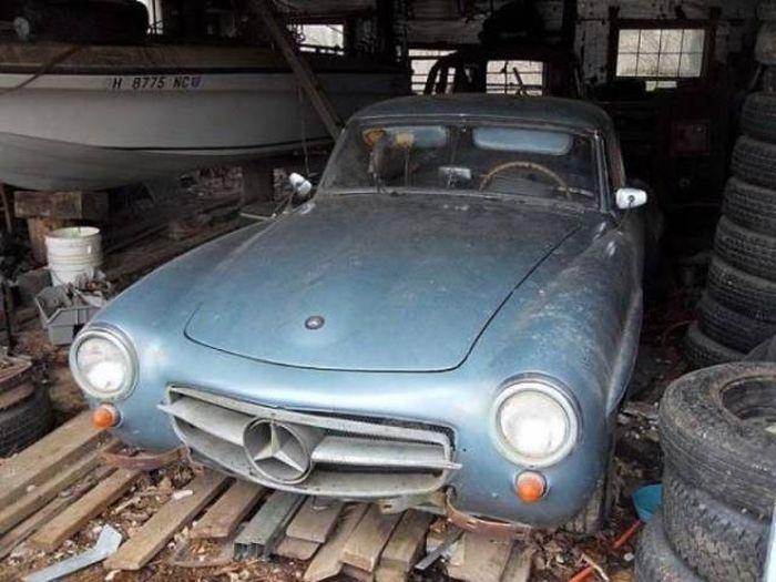 Abandoned Legendary Cars