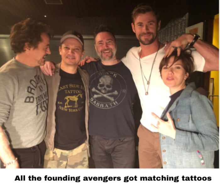 Great Avengers Tattoo Story