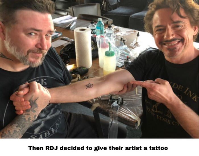 Great Avengers Tattoo Story