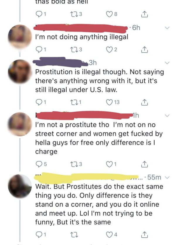 Girl Didn't Know She's A Prostitute