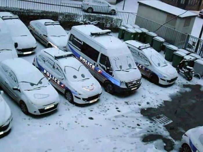Police Can Be Funny