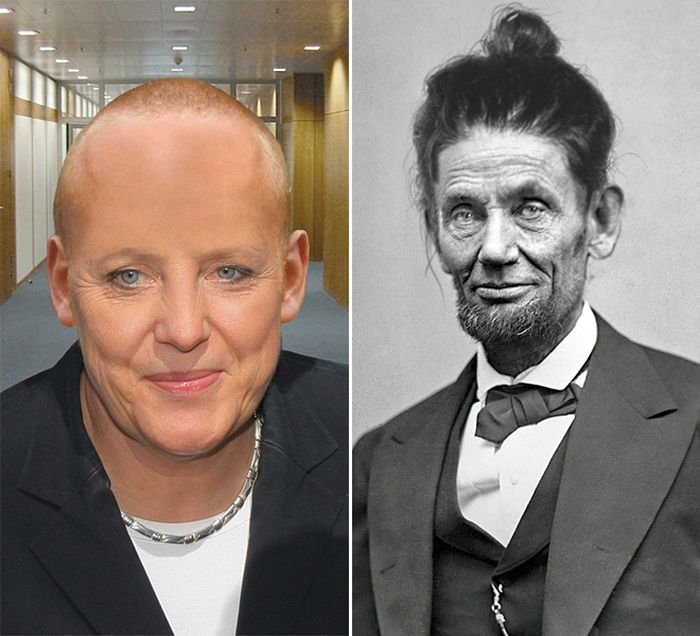 If World Leaders Had Very Different Haircuts