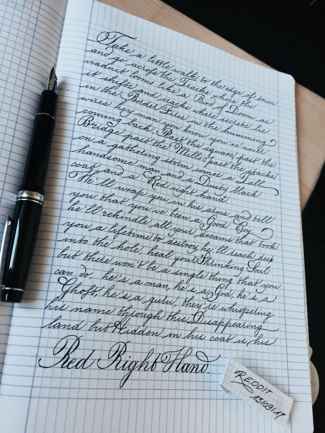 Perfect Handwriting
