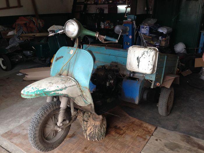 Reconstruction Of A Strange Vehicle