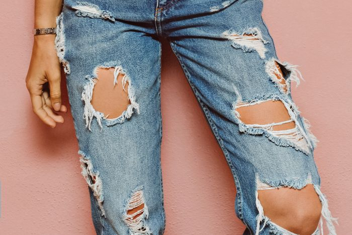 Ripped Jeans In The Sun Are Very Bad For Your Skin