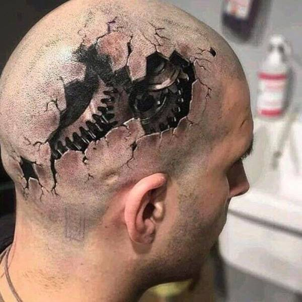 Hyperrealistic Tattoos, part 2