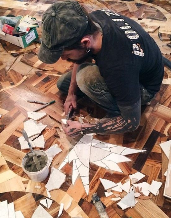 The Floor as a Work of Art