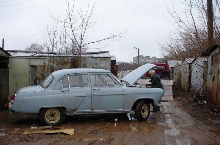 Restoring An Old Soviet Car
