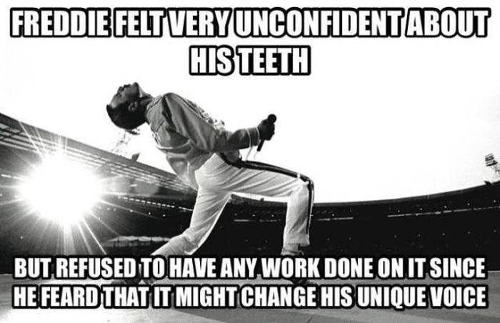 Facts About Freddie Mercury, part 2