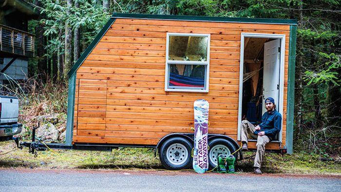 Tiny House On Wheels, part 2