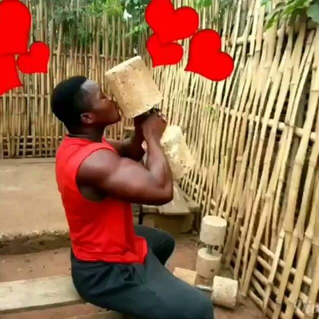 Homemade Gym In Africa