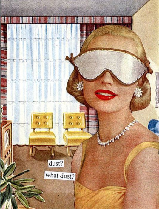 Retro Illustrations With Sarcasm