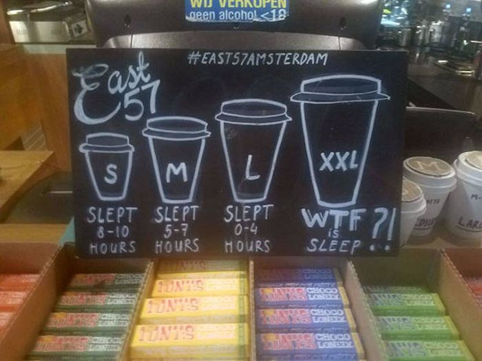 Coffee Shops Can Be Funny