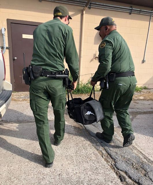 Border Guards Found Something Very Interesting In The Bag Of Illegal Immigrants