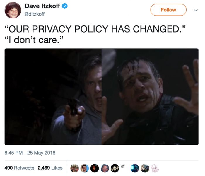 Funny Tweets About All Those Privacy Policy Updates Spamming Your Inbox
