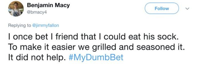 The Dumbest Bets People Made With Their Best Friends