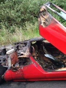 Wrecked Lamborghini