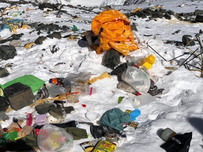 Everest Is Full Of Trash