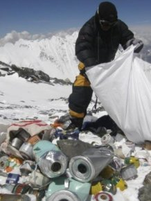 Everest Is Full Of Trash