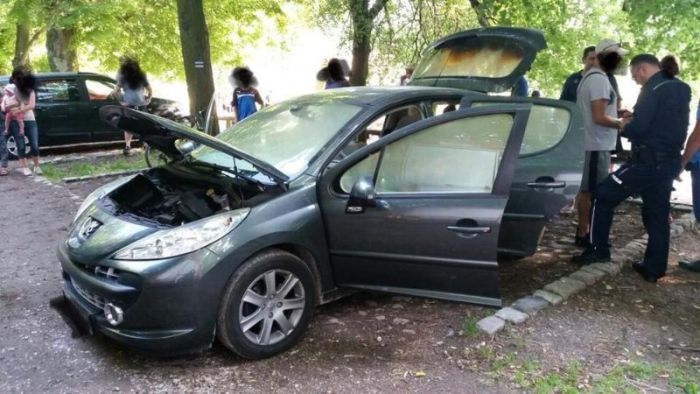 A Man Poland Put A Hot Grill In His Car's Trunk. This Is What Happened Next