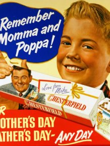 Vintage Ads Of Cigarettes And Kids