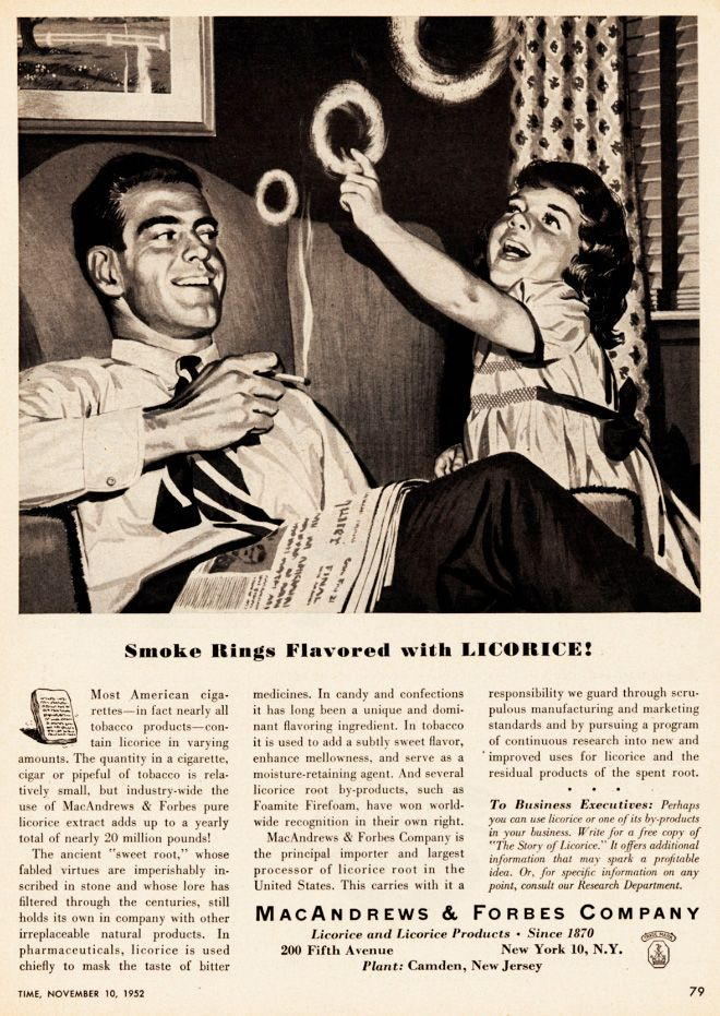 Vintage Ads Of Cigarettes And Kids
