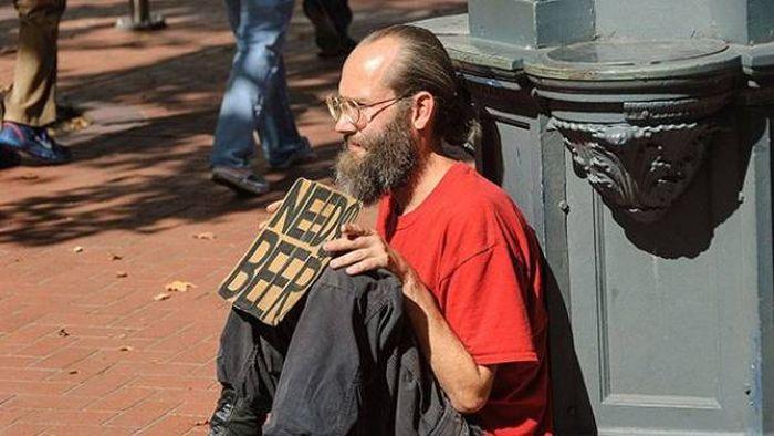 Creative Homeless People