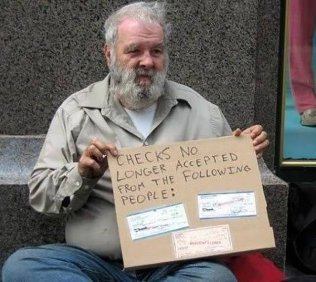Creative Homeless People