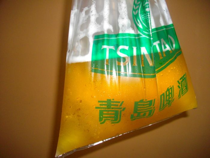 Drinking Beer In China