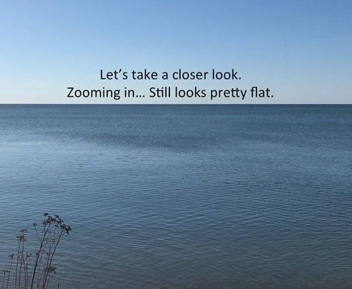 Another Attempt To Prove Why Earth Isn't Flat