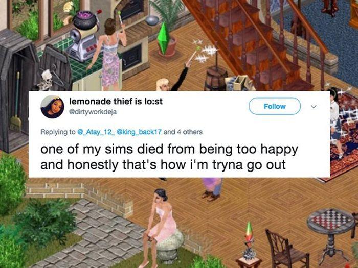 Sims Die In The Strangest Ways