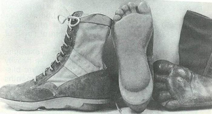 Boots From The US Special Forces Units MACV SOG During The Vietnam War