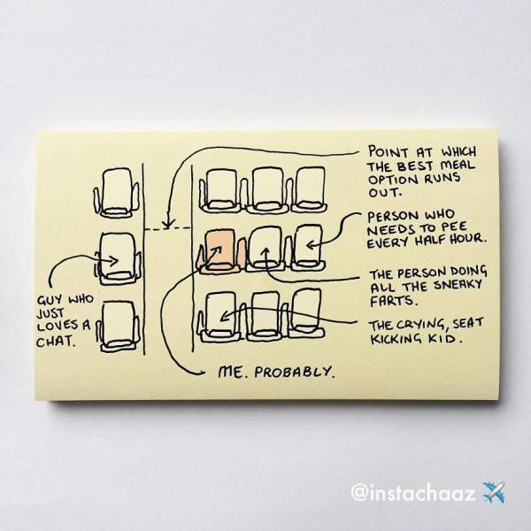 Sticky Notes Created By This Artist Are Too True