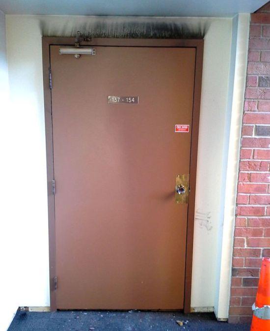It's A Good Fire Door