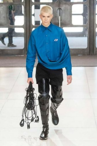 Chinese Cyberpunk At The Men's Fashion Week In London
