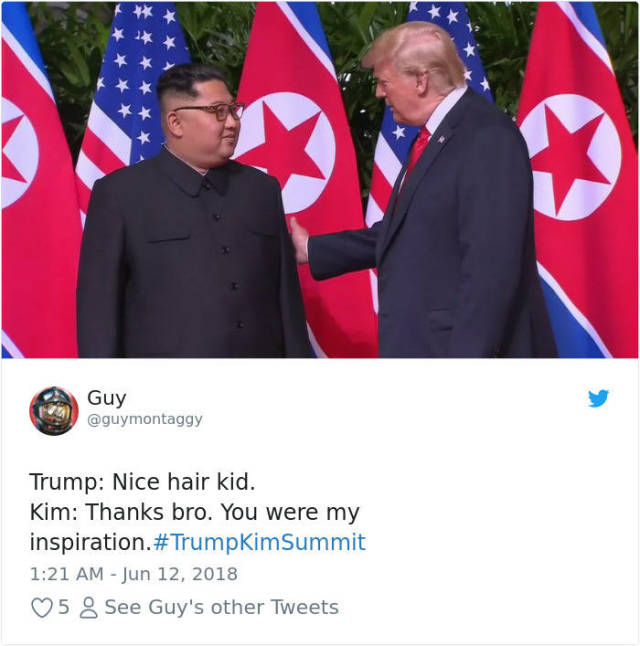 Memes About Trump's Meeting With Kim Jong-Un