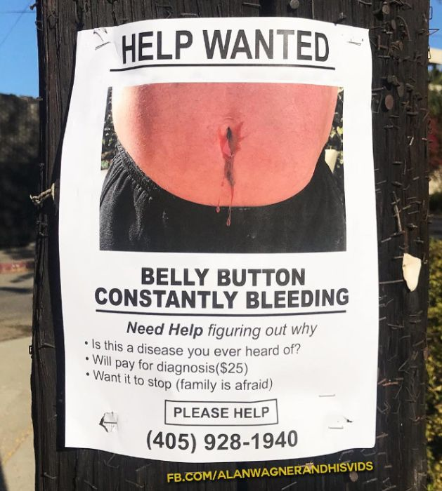 Funny Fake Signs In Los Angeles